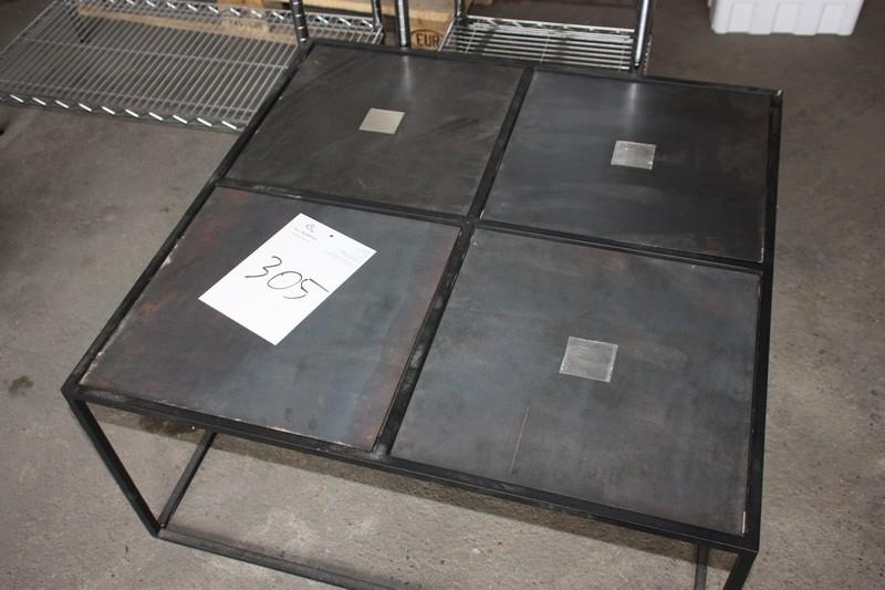 Ny Sofabord, stål, med 4 plader - KJ Auktion - Maskinauktioner QS34