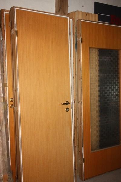 Topnotch 7 brugte indvendige døre, bredde 68, 78 og 88 cm. Højde: 208 cm FG05