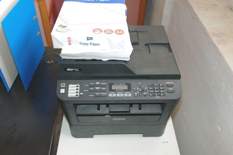 Printer Brother Pc Højtalere Trust Magnet Tavle Div Mapper