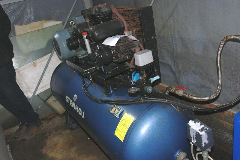 Smuk Kompressor , Stenhøj 500 liter med BT-65 Stenhøj køle tørrer - KJ SY-66