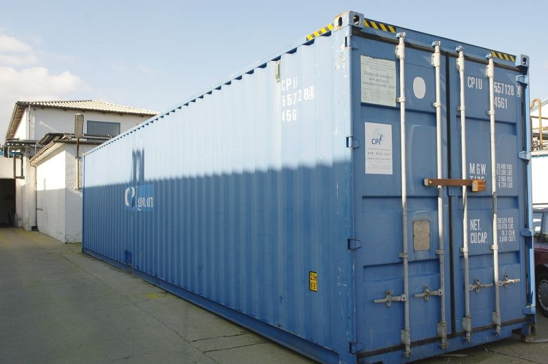 Container 40 feet without content, year 2000 - KJ Auktion - Machine