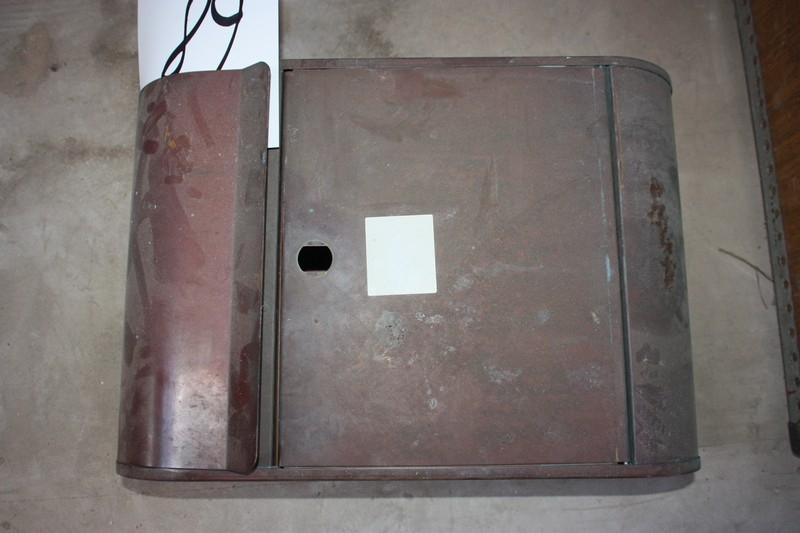 Fremragende Postkasse, kobber - KJ Auktion - Maskinauktioner VJ81