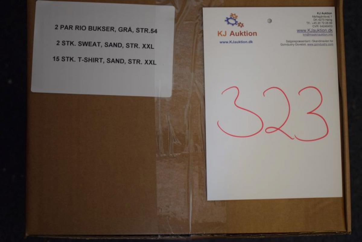 Firmatøj uden tryk ubrugt: 2 PAR Rio bukser , str. 54 , grå