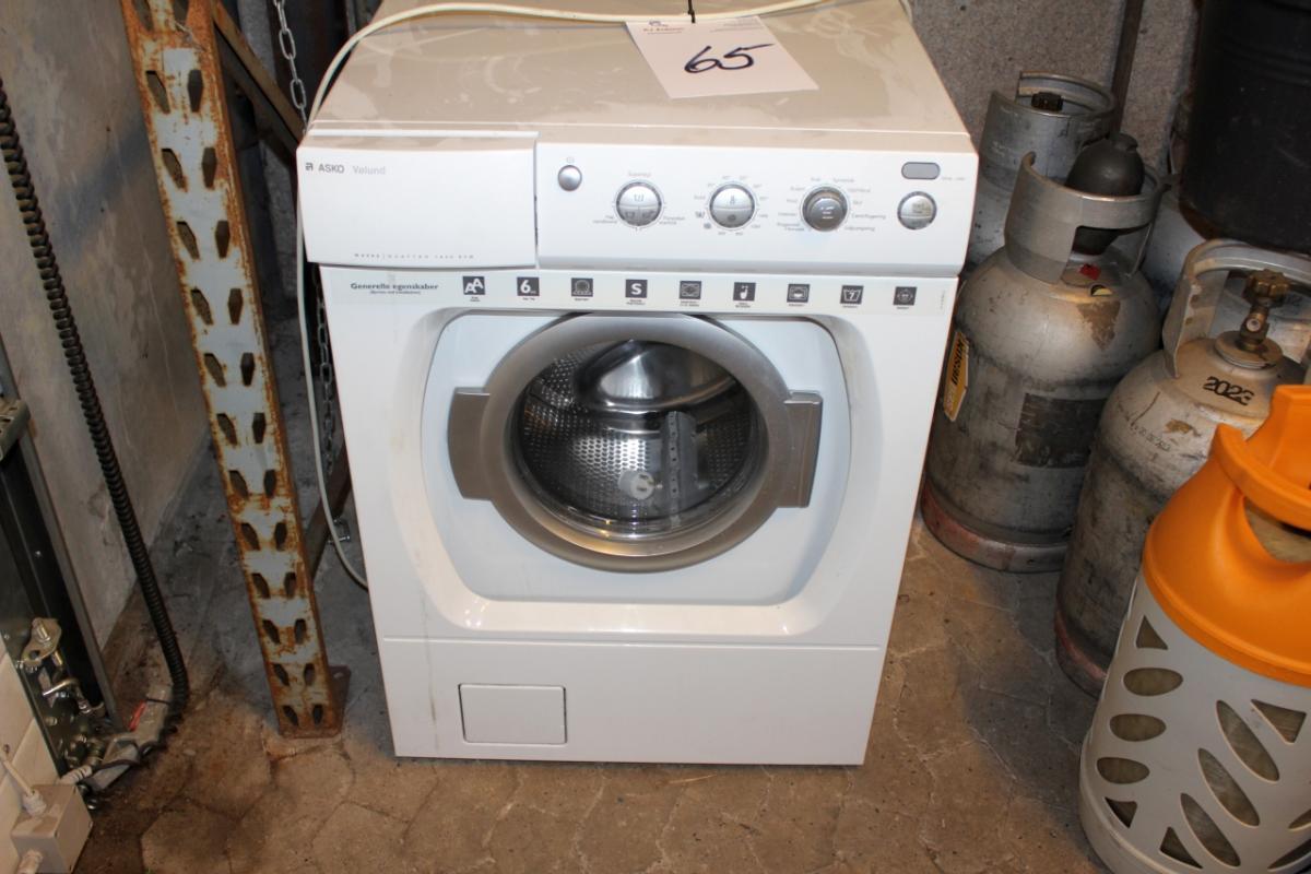 asko vølund vaskemaskine