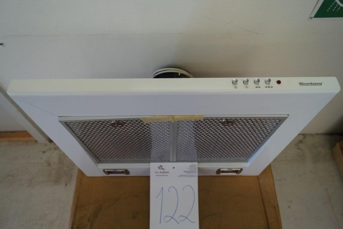Fin Emhætte væghængt mrk. Blomberg B: 60 cm ubrugt - KJ Auktion TP-42