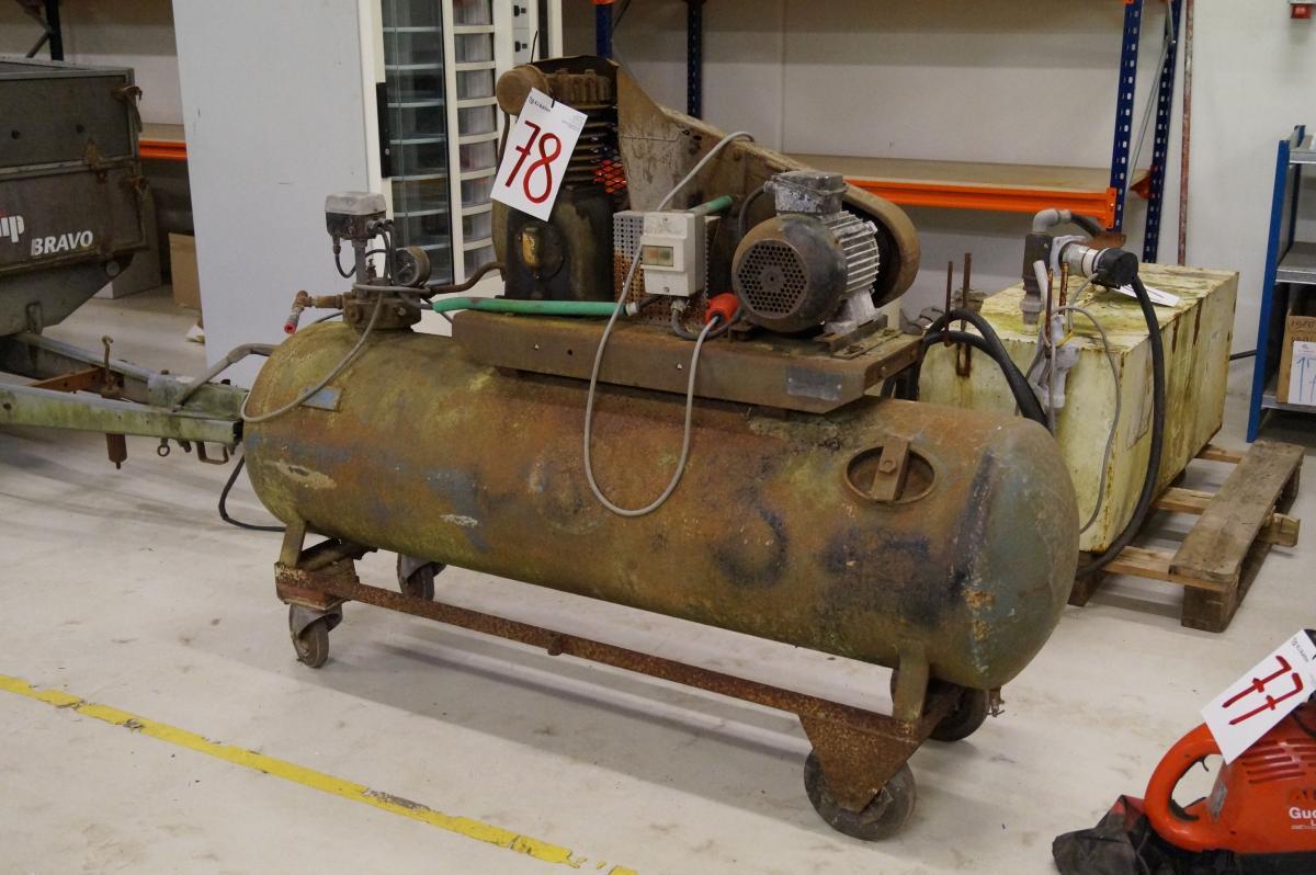 Ultramoderne Sigurd Stenhøj Kompressor. 300 liter. - KJ Auktion - Machine auctions OO-55
