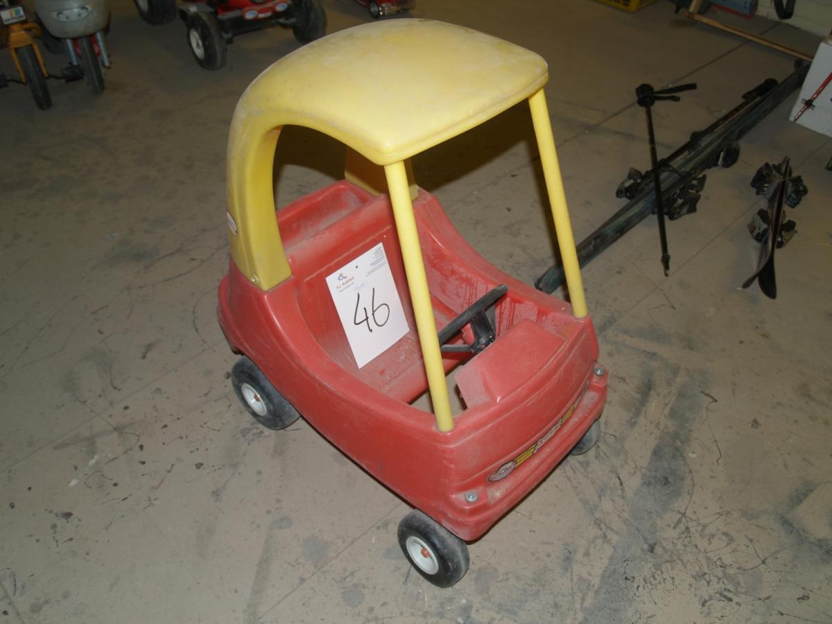 Nye Gåbil, Little Tikes, 85 cm high - KJ Auktion - Machine auctions SK-24