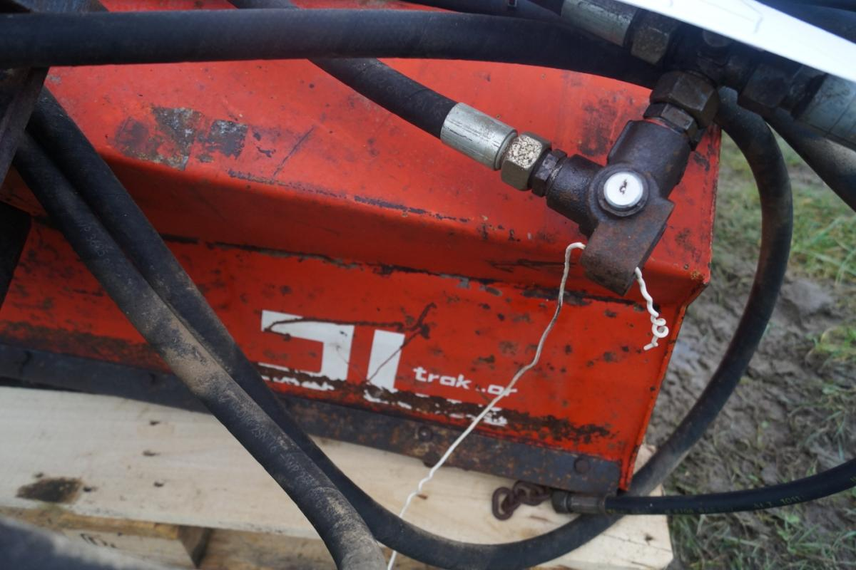 græsKlipper/grenknuser til rendegraver/minigraver. Bredde 114 G - KJ Auktion - Maskinauktioner