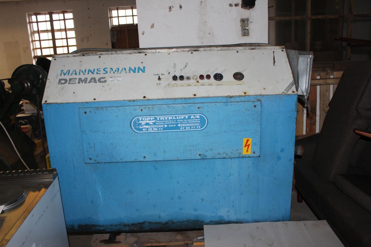 Kompressor Demag, model SE-50S timer 44617, serie nr  49044