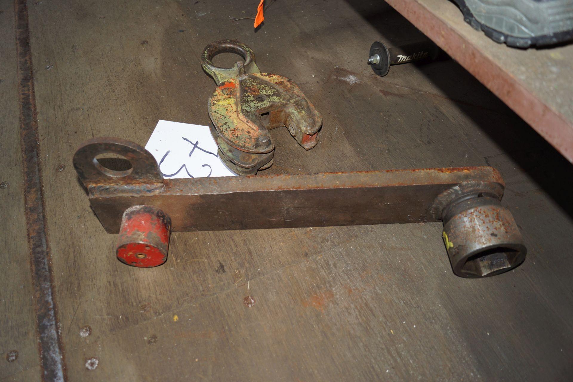 Pladeklo big iron rod with big top  - KJ Auktion - Machine
