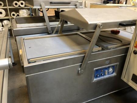 Röscher Matic Doppelkammer-Vakuumverpackungen aus Edelstahl
