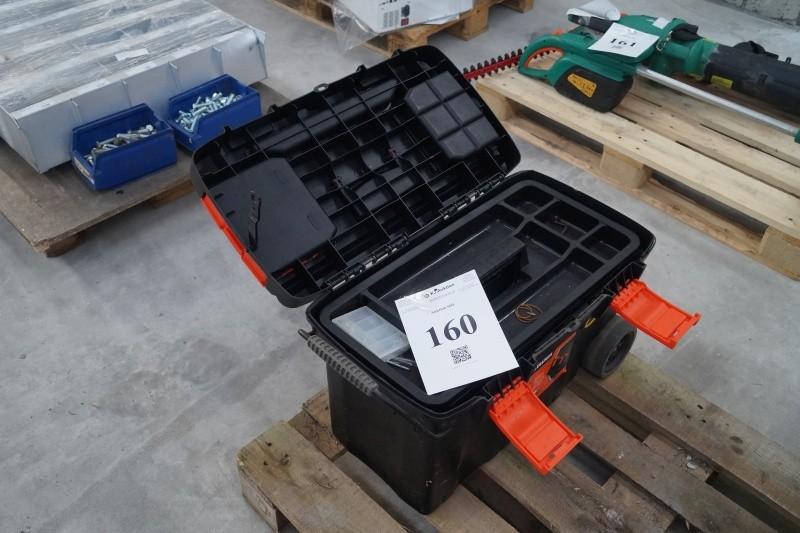 black and decker værktøjskasse