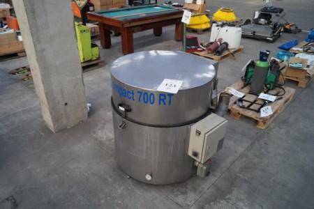 Delevasker, compact clean 700 inkl. 15 L rensevæske, nye lejer, pumpe og pakninger