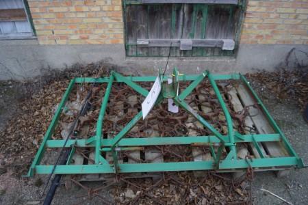 Rive til traktor B:204 D:140 cm