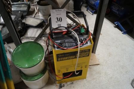 Booster mærke Quin charger 630 12 og 24 volt.