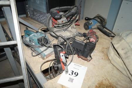 5 stk elværktøj