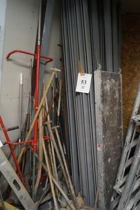 3 fag Pallereol højde 330 cm bredde 300 cm dybde 99 cm