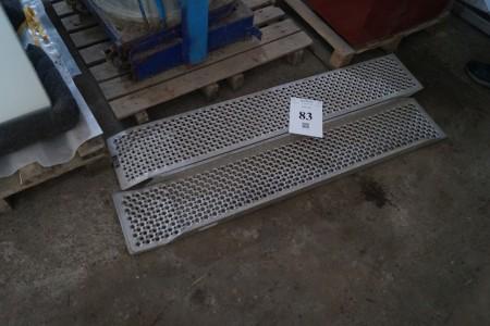 2 stk Slidsker 150x26 cm