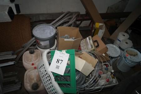Diverse hønse net upsoner combiclip og meget mere alt skal medtages.