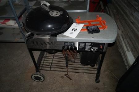 Weber grill med start
