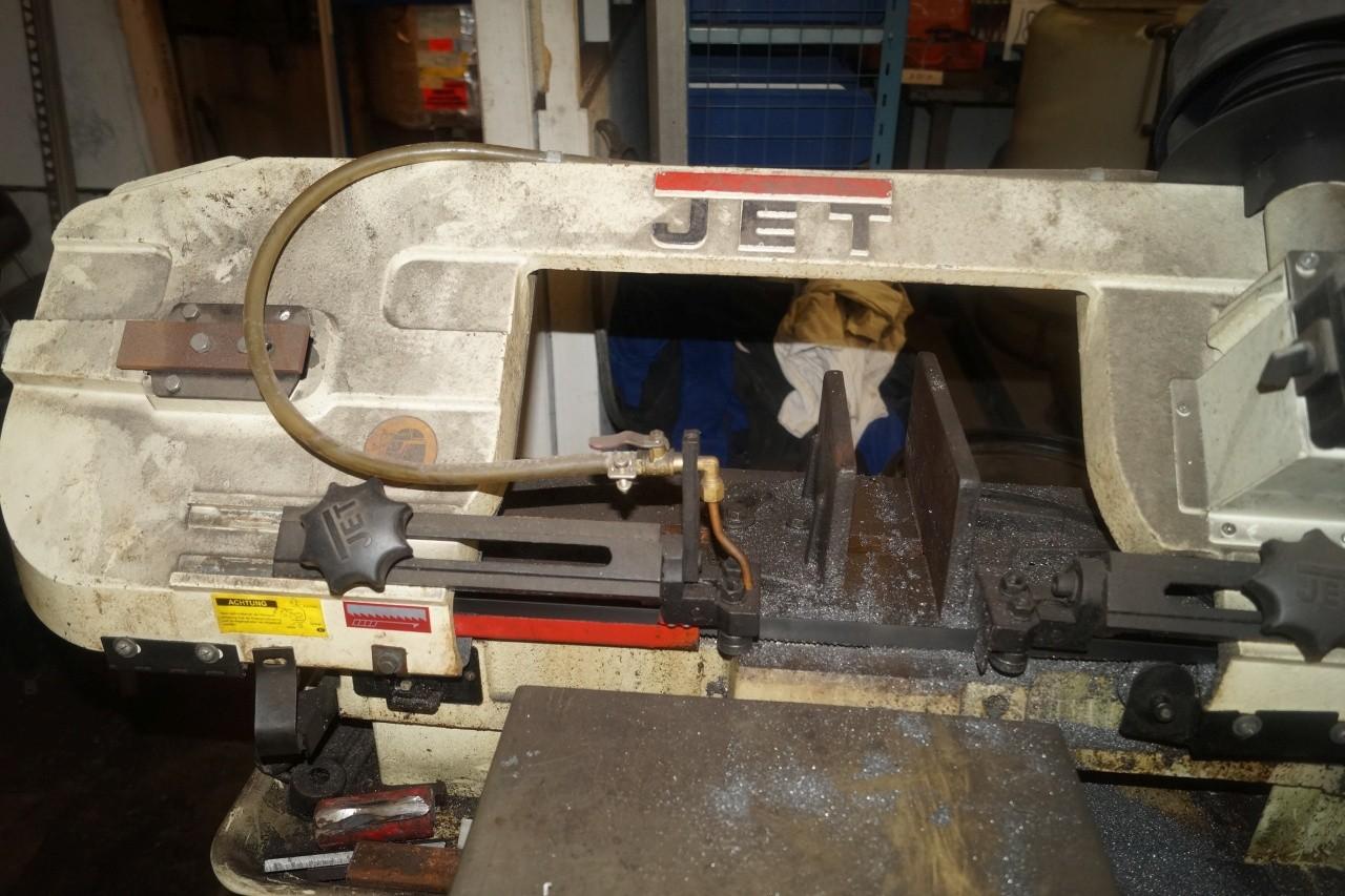 Band saw JET Hvbs-712 K 230 volts - KJ Auktion - Machine