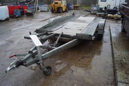 Brenderup trailer mærke 1503 GT reg.nr. HN8836 sælges uden plader, 1. reg.dato. 28-09-89