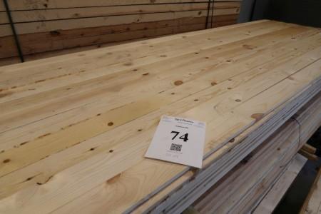 20 stk. forskalling 16x100 mm. Længde 360 cm