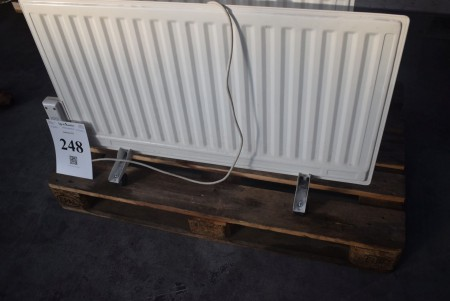 1000W oil-filled electric radiator - works