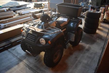 Overland ATV. Starts and runs.