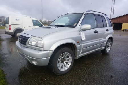 Suzuki Grand Vitara. Km: 206509. Reg. No: AA38324. 2.0 D From Aut. First reg.: 18-10-2002. It can start and run. Signed off.