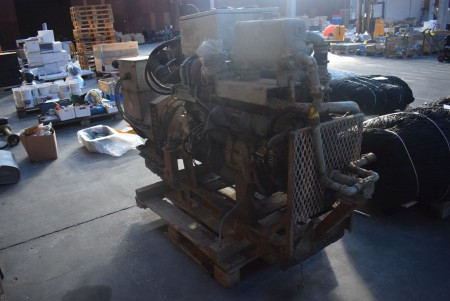 Mitsubishi generator. Type: 6D16T. Output: 104 kW. AC generator. Type: UCM274E23