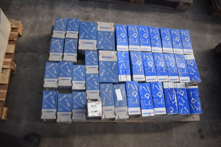 Various rubber clamps and dowels - see pictures for specifications