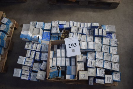 Various steel bolts, set bolts and plate screws - see pictures for specifications