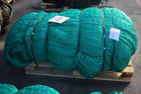 Nylon net. 77.8x10.9 meters.