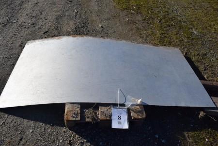 Galvanized plate 250x125