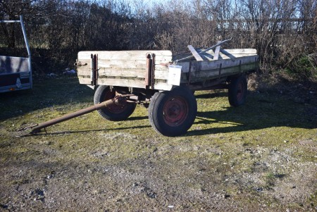 Pull cart for tractor 400x200 cm