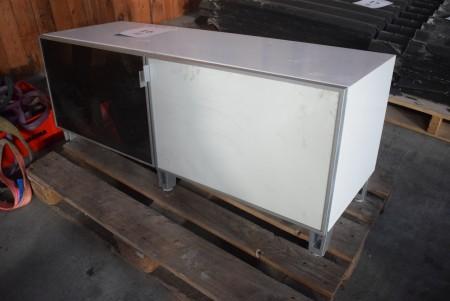 TV sideboard. 120x41,5x49 cm.