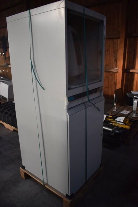 Computer locker. 160x69.5x60cm