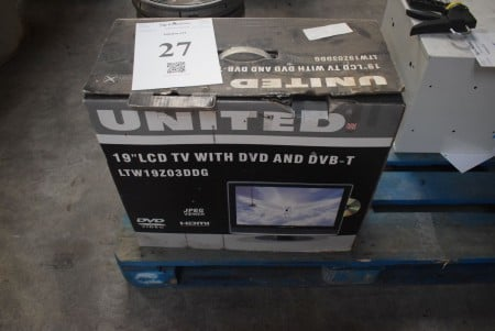 "19 ""TV with DVD"