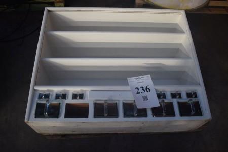 Kitchen cabinet - 1 glass drawer missing