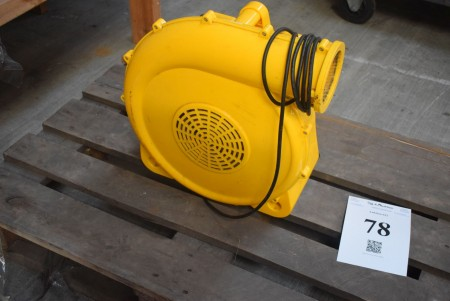 Electronic bouncer blower. 2 hp
