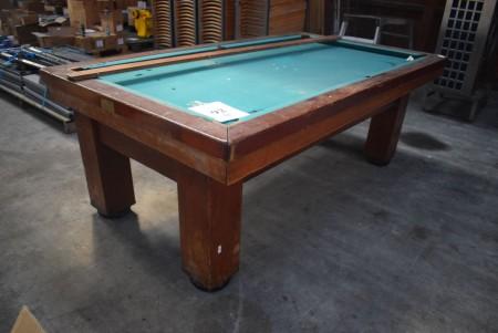 Billiards. 236x132x84 cm.