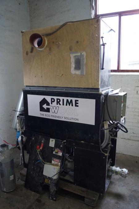 CM 2400 isolationsblæse maskine H 200 cm L 180 cm B 60 cm