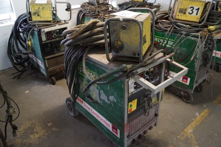 MIGATRONIC KME 550 WATER-COOLED, with wire box and cables, Fully functional