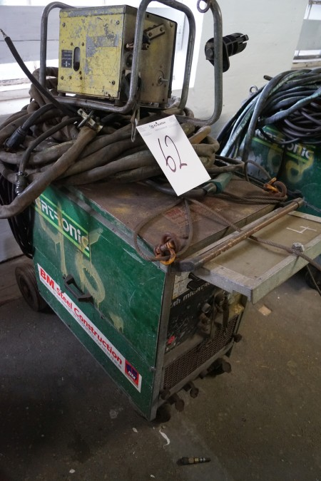 MIGATRONIC KME 550VAND-KØLET, med trådboks og kabler, Fuld funktionsdygtig