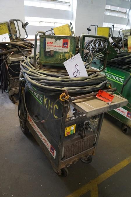 MIGATRONIC KME 400 VAND-KØLET, med trådboks og kabler, Fuld funktionsdygtig