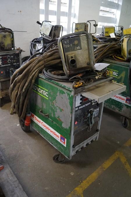 MIGATRONIC KME 550 VAND-KØLET, med trådboks og kabler, Fuld funktionsdygtig