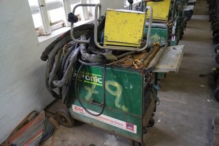 MIGATRONIC KME 400 med trådboks og kabler, Fuld funktionsdygtig