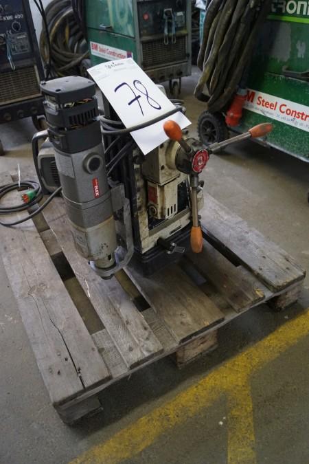 Magnetboremaskine mærke FLEX