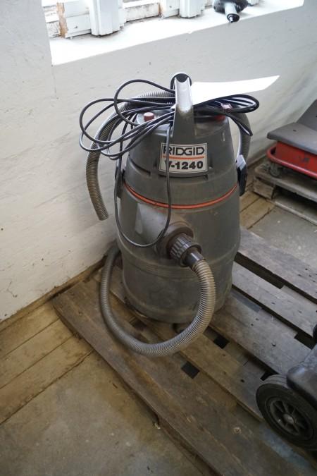 RIDGID V-1240 støvsuger, ikke afprøvet